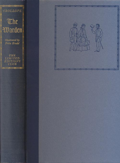 The Warden. Anthony Trollope.