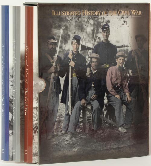 Illustrated History of the Civil War 3 Volume Complete Set. Henry Woodhead.