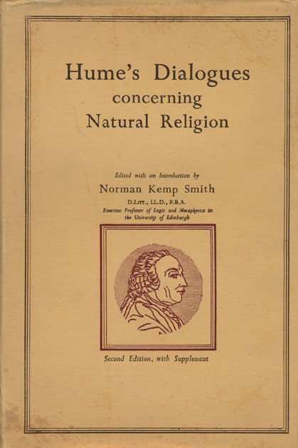 Hume's Dialogues Concerning Natural Religion Second Edition with Supplement. David Hume, Norman Kemp Smith.