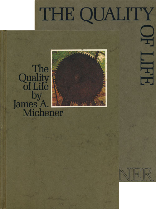The Quality of Life. James A. Michener.