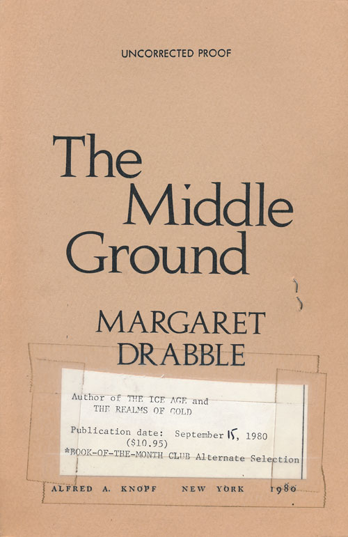 The Middle Ground. Margaret Drabble.
