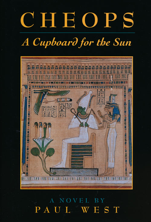 Cheops A Cupboard for the Sun. Paul West.