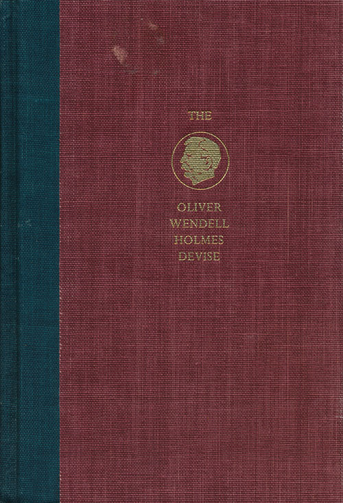 The Oliver Wendell Holmes Devise: History of the Supreme Court of the United States Reconstruction and Reunion; Volume 6, Part 1. Paul A. Freund.