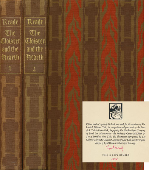 The Cloister and the Hearth Two Volumes. Charles Reade.