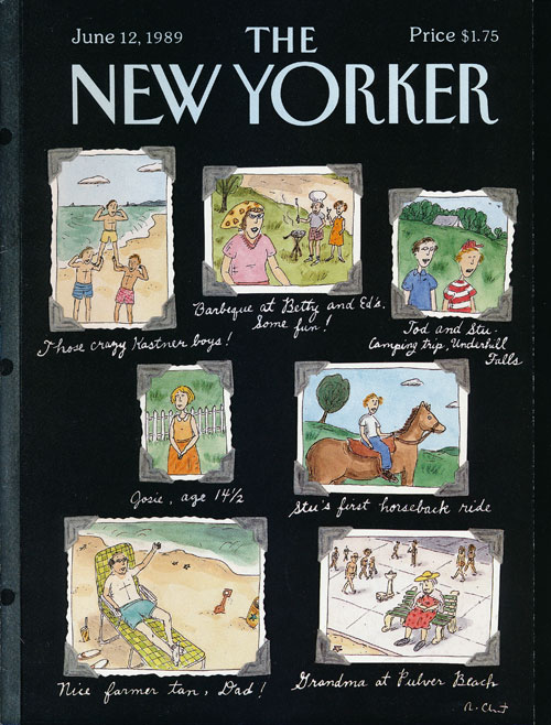 The New Yorker: June 12, 1989. Julian Barnes, Julian Kumin, Edith Oliver, Andrew Porter, Mark Strand, Etc.