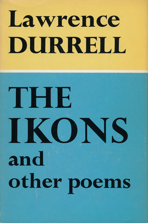 The Ikons and Other Poems. Lawrence Durrell.
