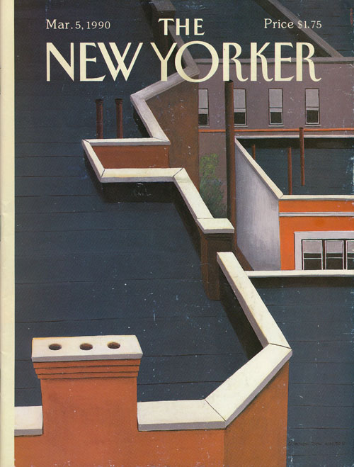 The New Yorker: March 5, 1990. Julian Barnes, Margaret Atwood, Joseph Brodsky, Eric Ormsby, Etc.