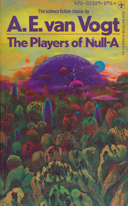 The Players of Null-A. A. E. Van Vogt.