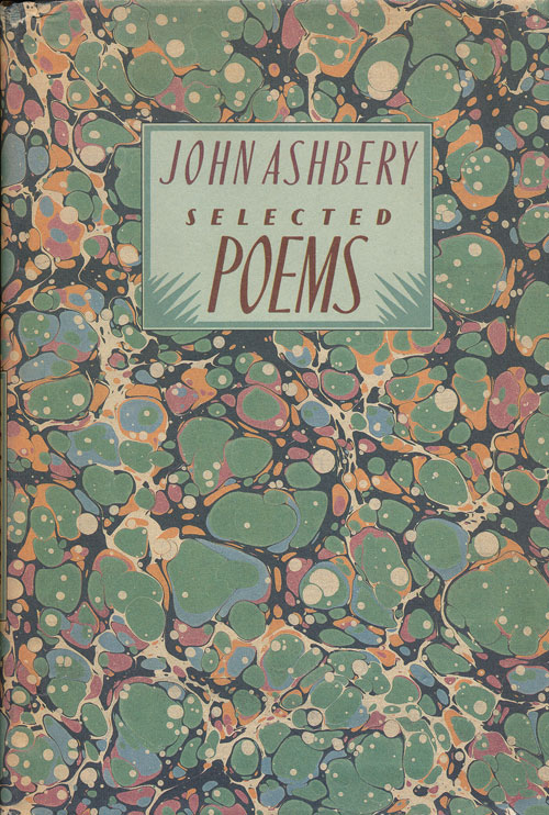 Selected Poems. John Ashbery.