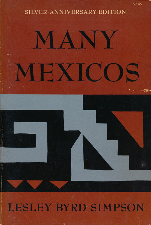 Many Mexicos. Simpson, rd.