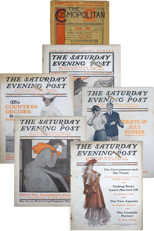 The Call of the Wild In Saturday Evening Post, June 20-July 18,1903 (Complete Novel in 5 Issues). Jack London.