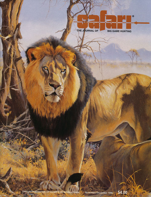 Safari Magazine: 48 Back Issues (1996-2006) The Journal of Big Game Hunting