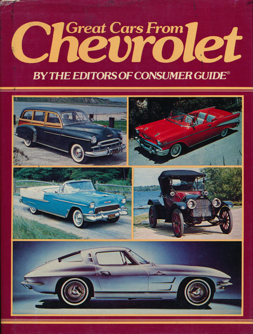 Great Cars from Chevrolet. Richard M. Langworth.