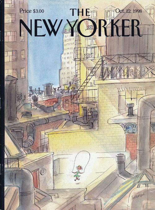 The New Yorker October 12, 1998. Jonathan Franzen, William F. Buckley Jr., David Remnick, Alice Munro, Toni Morrison, Paul Muldoon.