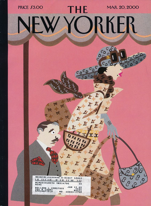 New Yorker, March 20, 2000. Seamus Heaney, Edna O'Brien.