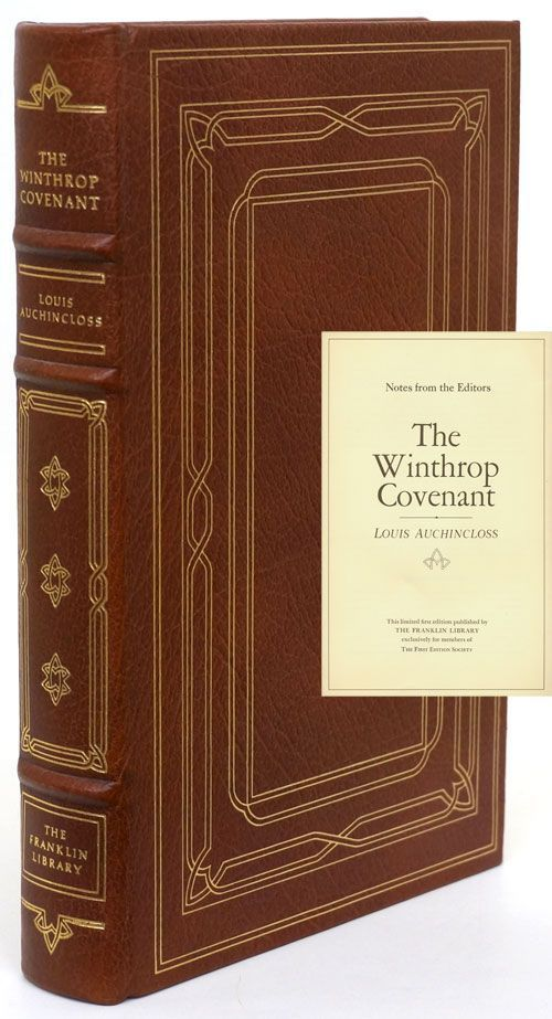 The Winthrop Covenant. Louis Auchincloss.