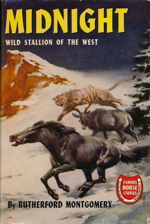 Midnight Wild Stallion of the West. Rutherford Montgomery.