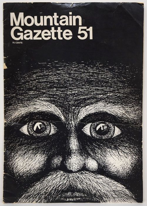 Mountain Gazette 51 November 1976. Edward Abbey, Gaylord Geunin, Allan Rabinowitz.