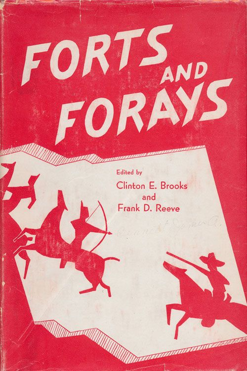 Forts and Forays James A. Bennett: a Dragoon in New Mexico 1850-1856. Clinton E. Brooks, Frank D. Reeve.