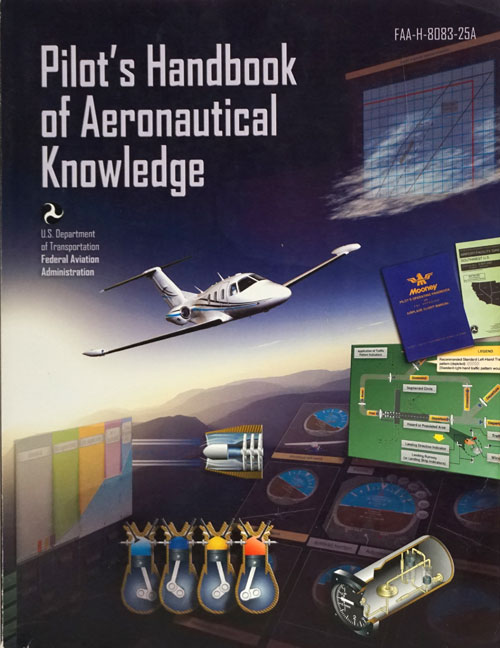 Pilot's Handbook of Aeronautical Knowledge 2008 FAA-H-8083-25A. Federal Aviation Administration.