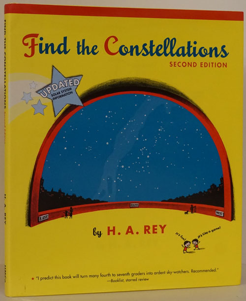 Find the Constellations Second Edition. H. A. Rey.