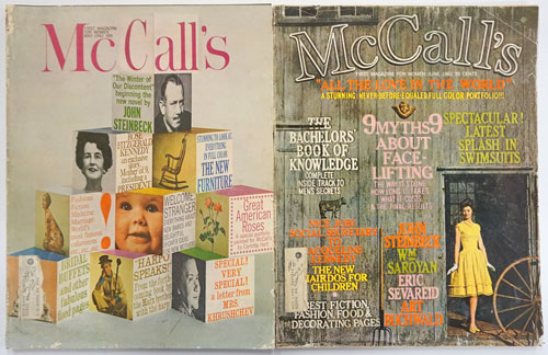 The Winter of Our Discontent Complete Novel Published in 4 Installments in McCall's, May-August 1961. John Steinbeck.