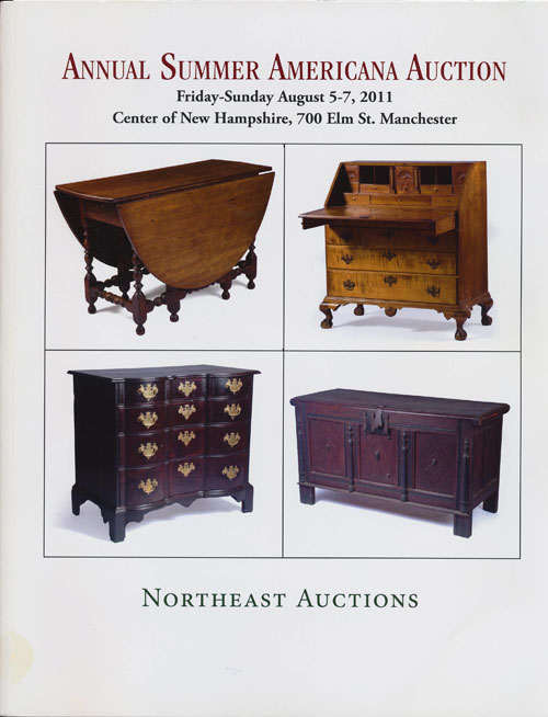 Northeast Auctions: Annual Summer Americana Auction Friday-Sunday August 5-7, 2011 Center of New Hampshire, 700 Elm St. , Manchester. Ronald Bourgeault.