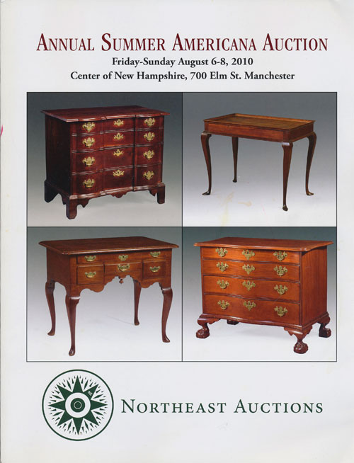 Northeast Auctions: Annual Summer Americana Auction Friday-Sunday August 6-8, 2010 Center of New Hampshire, 700 Elm St. , Manchester. Ronald Bourgeault.