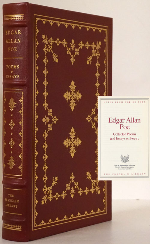 Collected Poems and Essays on Poetry. Edgar Allan Poe.