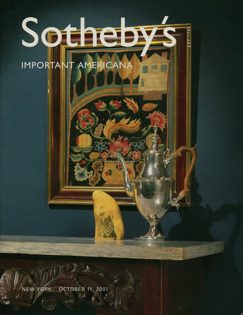 Sotheby's Important Americana Including Silver, Folk Art and Furniture: October 11, 2001. Sale # 7705. Sotheby's, Auction Cataloge.