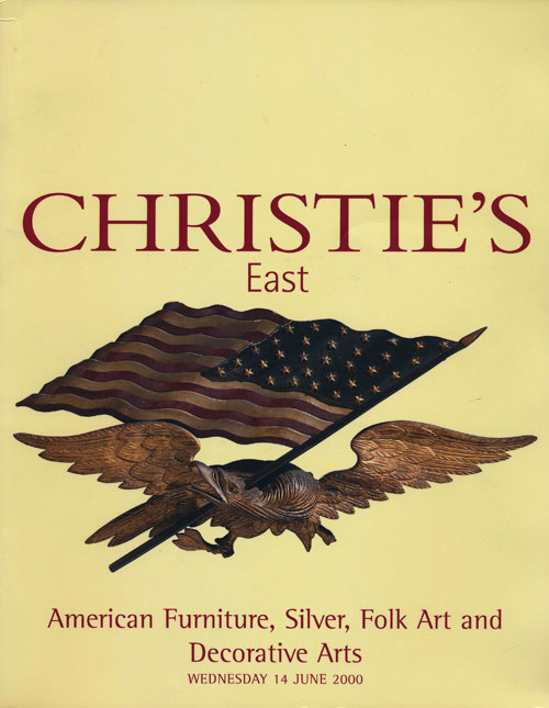 Christie's East. American Furniture, Silver, Folk Art and Decorative Arts; Wednesday 14 June 2000. Sale # 8393. Christie's.