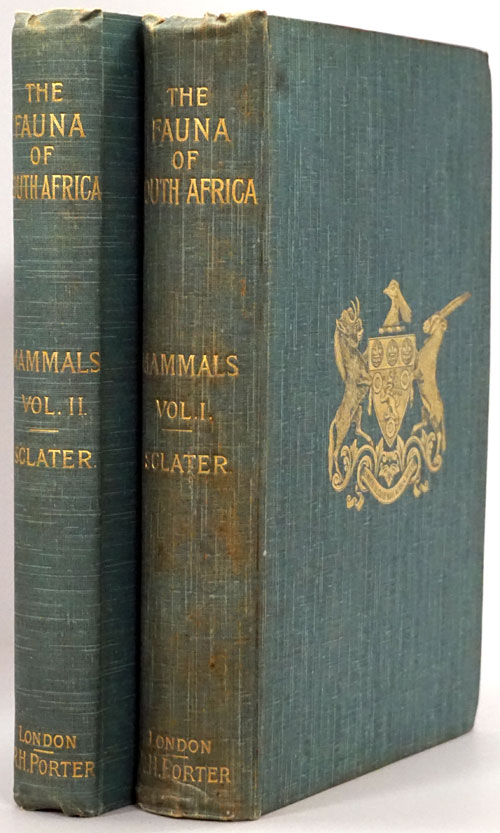 Tha Fauna of South Africa: Mammals Volume 1 and Mammals Volume 2. W. L. Sclater.
