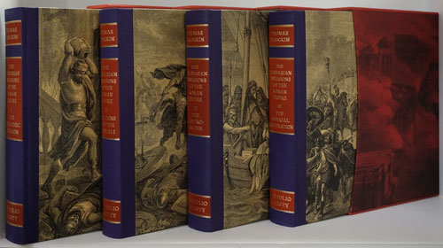 The Barbarian Invasions of the Roman Empire (First 4 Volumes Only). Thomas Hodgkin.