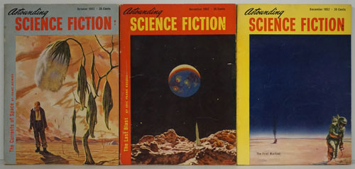 The Currents of Space Appearing in Astounding Science Fiction October-December 1952 (Full Serialization in 3 Complete Issues). John Campbell, Isaac Asimov.