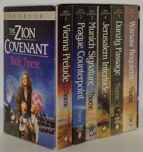The Zion Covenant Books 1-6. Bodie Theone.