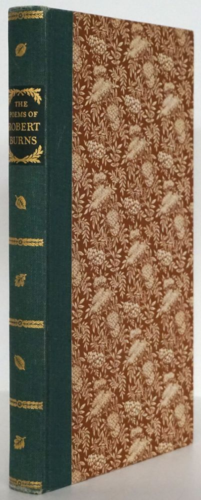 The Poems of Robert Burns Selected and with an Introduction by Delancey Ferguson. Robert Burns.