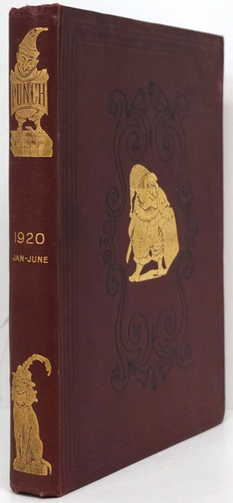Punch Vol. CLVIII. Bound Issues Covering January, 1920 - June, 1920