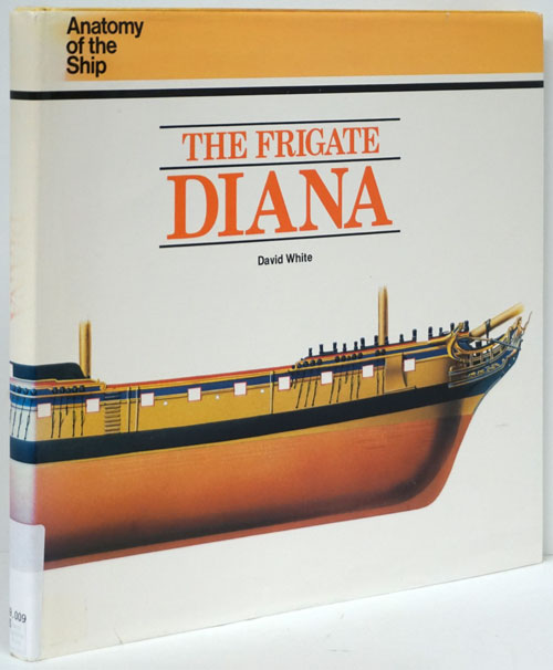 The Frigate Diana. David White.