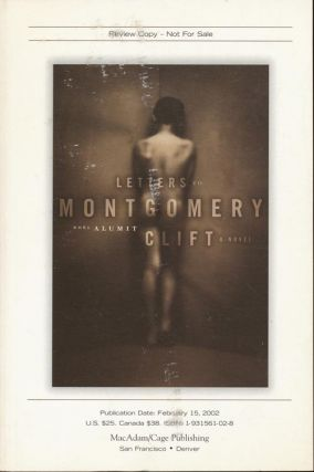 Letters to Montgomery Clift. Noel Alumit.