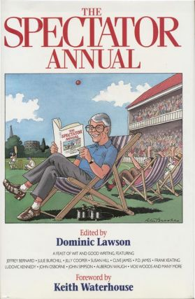 The Spectator Annual 1992. Dominic Lawson, Martin Amis, Jeffrey Bernard, Michael Lewis, Julie...