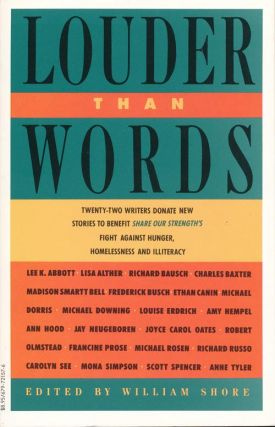 Louder Than Words: 22 Authors Donate New Stories to Benefit Share Our Strength's Fight Against...