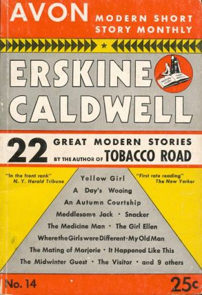 Avon Modern Short Story Monthly, No. 14. Erskine Caldwell