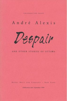 Despair And Other Stories