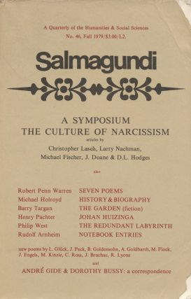 Salmagundi, No.46 Fall 1979 A Quarterly of the Humanities & Social Sciences