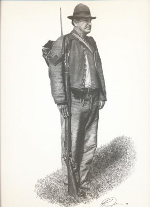 Civil War Infantry Man Print