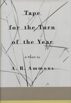 Tape for the Turn of the Year. A. R. Ammons