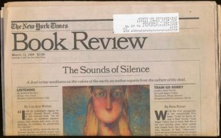 The New York Times Book Review March 13, 1994. Carolyn Chute, Madison Smartt Bell