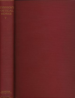 The Works of Alfred Lord Tennyson Poet Laureate Vol V Dramas. Alfred Lord Tennyson