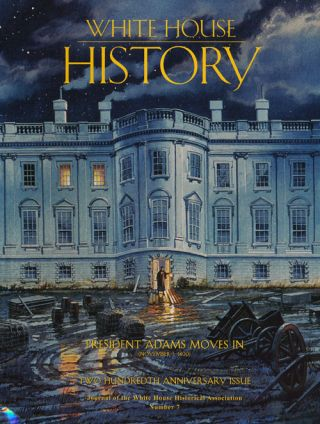 White House History President Adams Moves in (November 1, 1800
