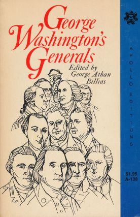 George Washington's Generals. George Athan Billias